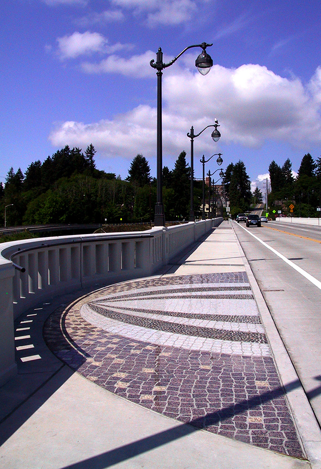 Olympia-Yashiro Friendship Bridge Overlook Mosaic