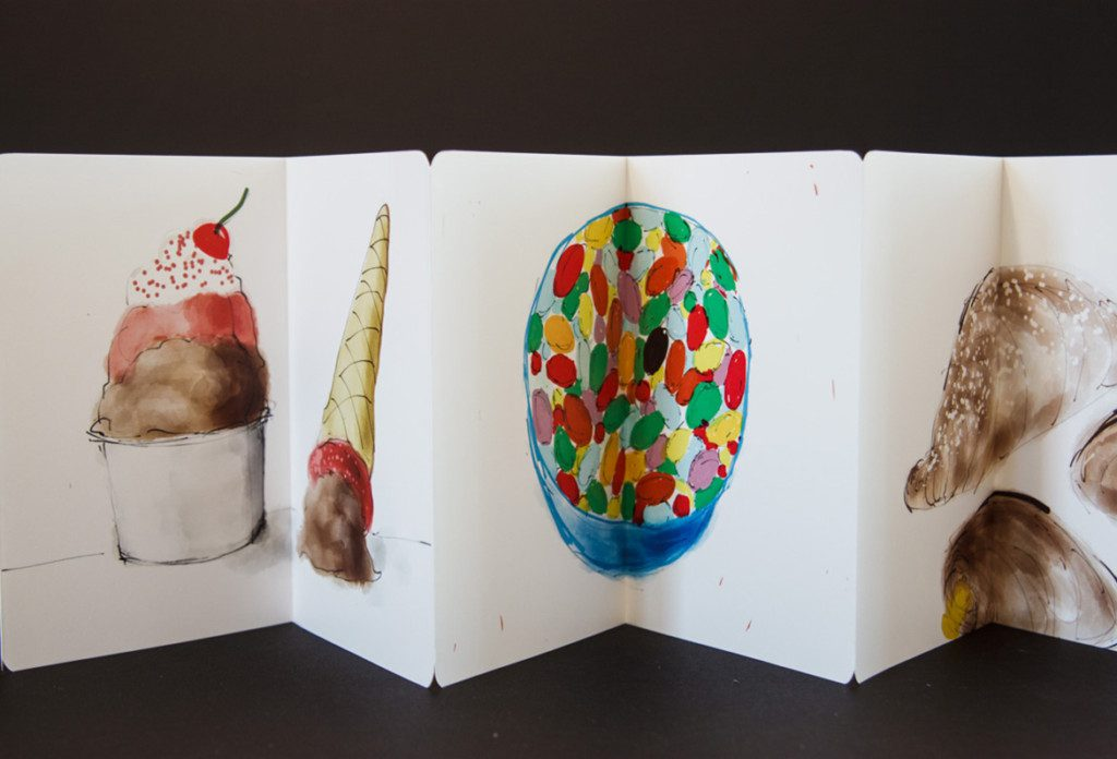Sweet Tooth (artist book detail)