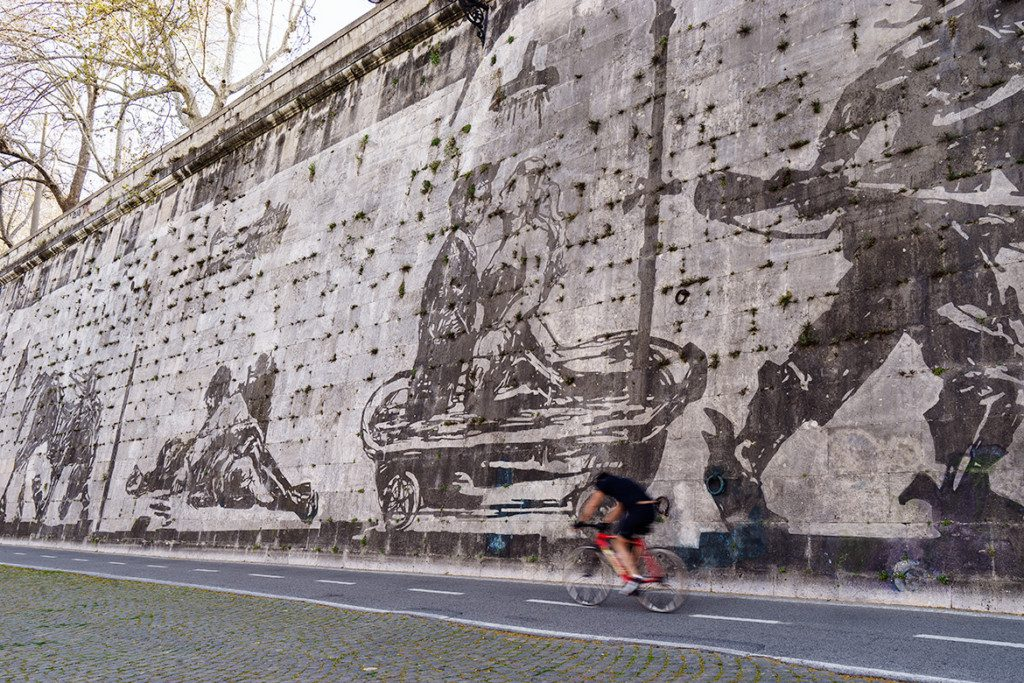 William Kentridge/Rome Mural