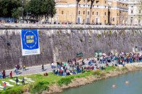 Tevere at Castel St Angelo