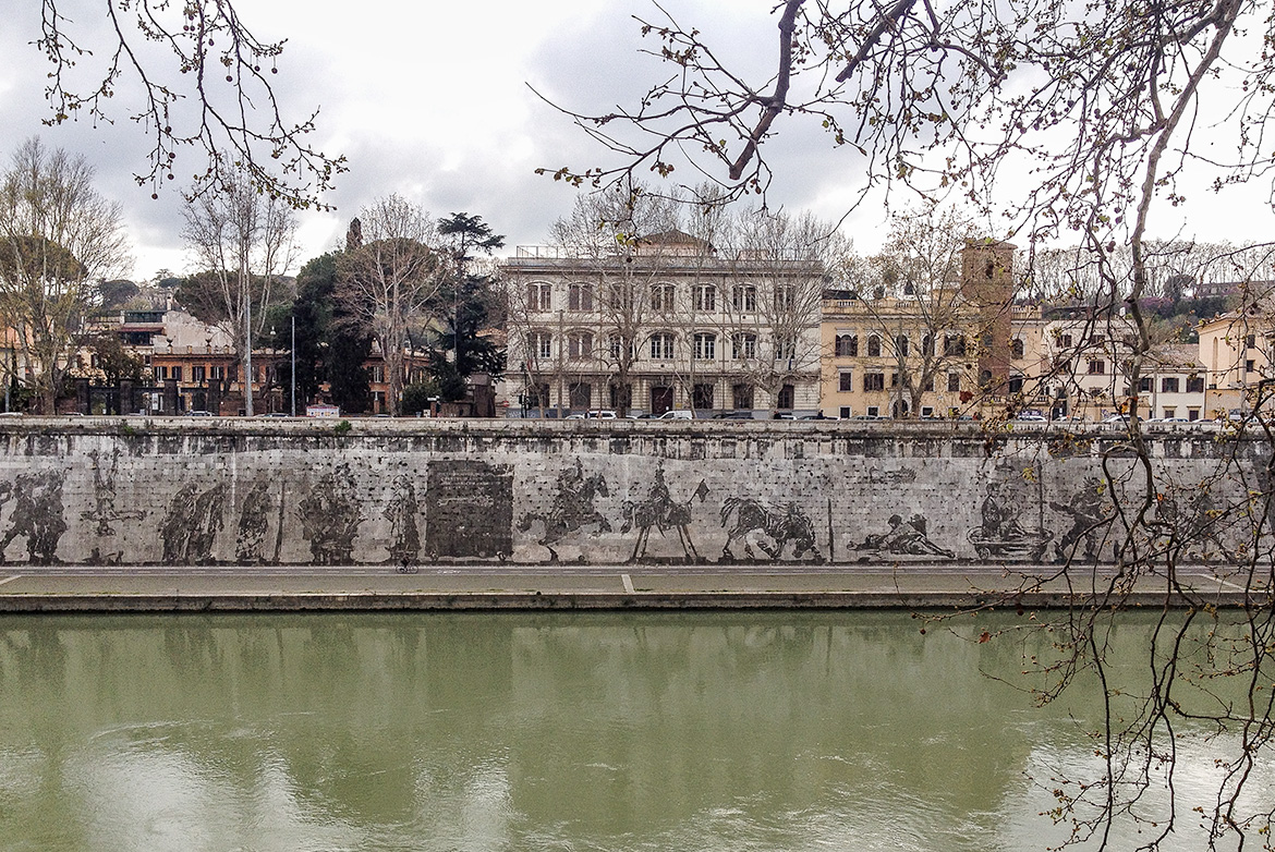 A Month in Rome. III