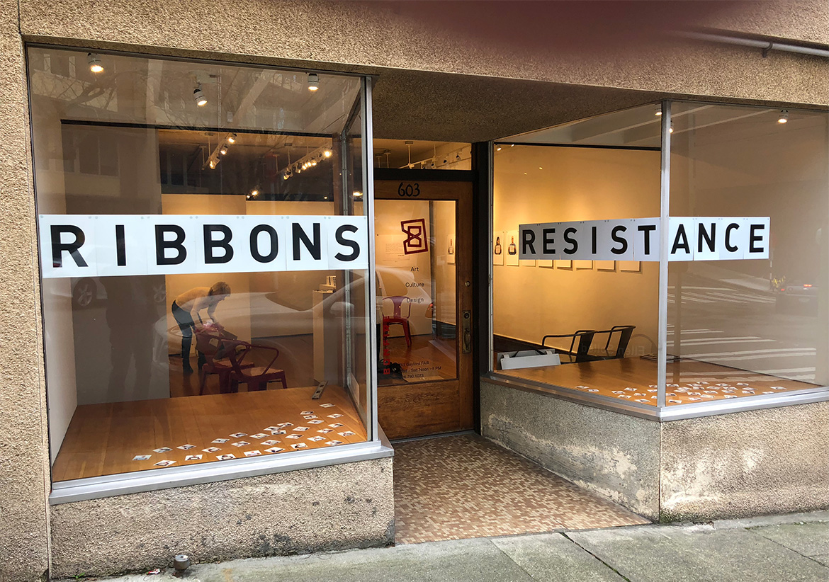 RESIST at Bonfire Gallery, Seattle